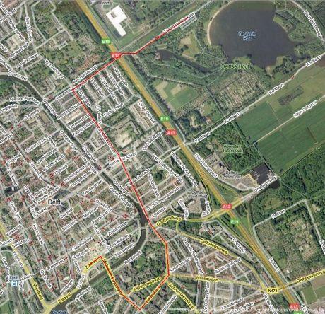 Route Rietendak